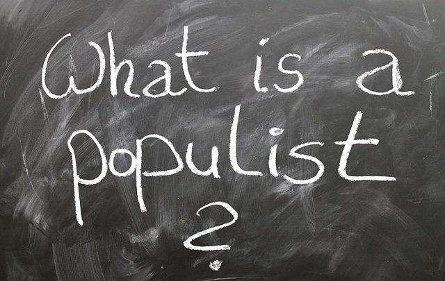 La storia del nuovo populismo
